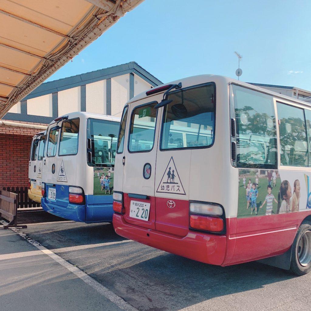 やまた幼稚園バス 横浜市都筑区