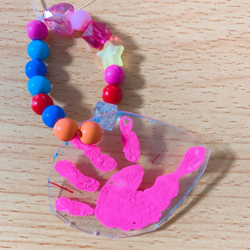 やまた幼稚園 手形キーホルダー