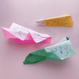 折り紙のこいのぼり やまた幼稚園 横浜市都筑区