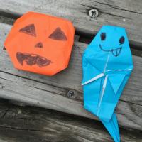 ハロウィン折り紙(やまた幼稚園)